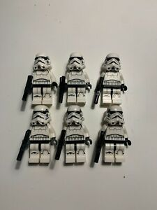 LEGO Star Wars Imperial Stormtrooper Minifigures Lot of 6 sw0585 75055 75159