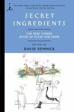 Modern Library Paperbacks: Secret Ingredients : The New Yorker Book of Food and