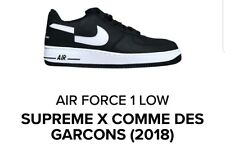 a4a31bf0cd316d Free Shipping. 10 Watching. Supreme x Nike Air Force 1 Low Comme des  Garcons Deadstock Size 10.5 CONFIRMED