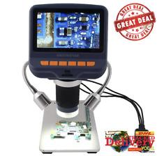 Microscopio Digital Nuevo 1080P con Sensor USB Microscopio HD con LED 10x-220x