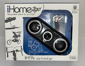 ihome 2Go Speaker iPod iPhone Music Sound Portable Model iH19B