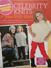 knitting pattern book Woman's day Celebrity knits for your little stars