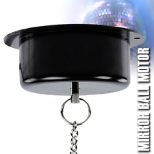 More details for electric mirror ball motor / rotatory inc chain max load 3kg 2 rpm plug fitted