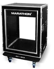 Marathon Flight Road Case MA14UADSM21W 14u Shock Mount Amplifier Deluxe 21-Inch
