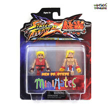 Street Fighter X Tekken Minimates Series 1 Ken vs Steve