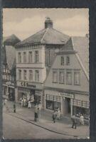 43320) AK Nienburg Weser Storchennest in der Langenstraße 1963