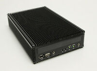 Industrial Fanless Mini-ITX PC 645F Intel P8600 2.4GHz / 4GB / 32GB SSD Quiet PC