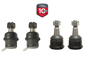 4PC HEAVY DUTY Front Upper/Lower Ball Joints FITS 4X4 Dodge Ram 1500 2500 3500