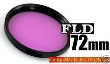 FLD 72mm Fluorescent FILTER 72 mm to your lens NIKON 18-200mm, NIKKOR 50-200mm