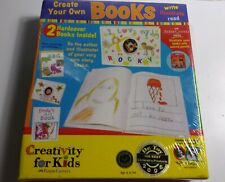 Creativity for Kids Create Your Own Books Write Illustrate Read New Sealed