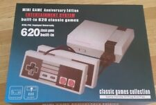 Mini Game Entertainment System.  620 Pre-loaded classic games. NEW