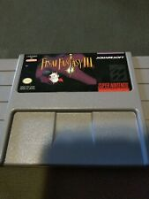 Final Fantasy Iii (Nintendo Snes, 1994)