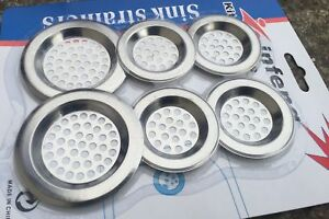 Premium Kitchen  Replacement Drain Waste Filter Plug Basin Strainer Drainer*Sink