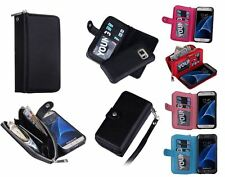 Samsung Galaxy S7 Purse wallet / In black / other colours in different listings