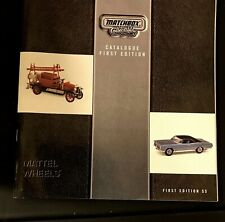 Matchbox Collectibles Catalog,  First Edition Mattel Wheels 2000. Complete
