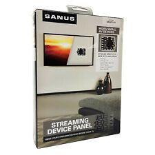 SANUS Streaming Media Device Panel Mounting Bracket Behind TV Black SASP1-B1
