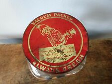 DURAGLAS Canister Jar Advertising Red Gold Coffee Lid Square Clear Glass Kitchen
