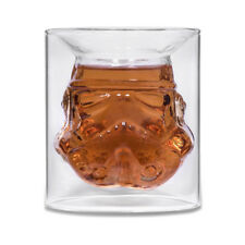 Star Wars Stormtrooper 150ml Glass Double Wall Crystal Shot Cup Bar Drink Mug