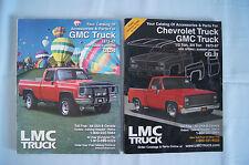 2 LMC Truck catalog parts accessories 1973-87 Chevy GMC trucks 1/2 ton 3/4 ton