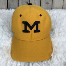 Zephyr Michigan University Wolverines Fitted Baseball Hat Size 7