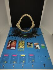 Saltwater Fishing Rigs (5) 1 oz. Fish Finder 1/0 Circle & BONUS Shark Teeth.