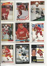 Lot of 26 Different Brad McCrimmon Hockey Card Collection Mint