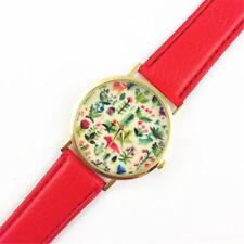 WATCH COTTAGE GARDEN THEME - GUARANTEED + SPARE BATTERY - FREE UK P&P.....CG1053