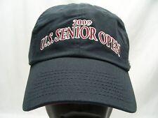 2009 US SENIOR OPEN - CROOKED STICK - ASHWORTH - STRAPBACK BALL CAP HAT!
