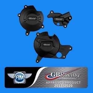GB Racing 2015 + SV650 SV650X Engine Cover Slider Set - 2017 2018 DL650 V-Strom