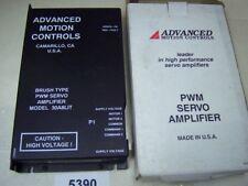 Advanced Motion Servo Amplifier 30A8LIT Brush Type DC PWM