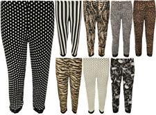Striped Leggings Pants for Women