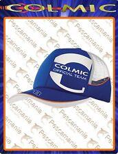 Cappello Colmic BLU con rete Official Team