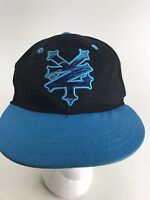 Zoo York Youth Kids Boys SnapBack Black Blue Hat Cap Rare Fast Shipping