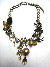 Birdcage aime les oiseaux charmes collier steampunk goth vintage Victoriana Nouveau Cadeau