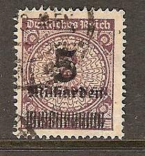 GERMANY REPUBLIC # 311 Used INFLATION Surcharge