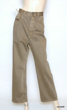 Nwt Diesel Pawer Wide Leg Cropped Ankle Pants Chinos Trousers Olive 28