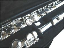 NEW  SILVER BAND C  FLUTE W/CASE.APPROVED+ WARRANTY.