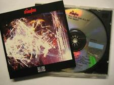 """STRANGLERS """"ALL LIVE AND ALL OF THE NIGHT"""" - CD"""
