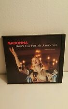 Don't Cry for Me Argentina Miami Mixes [US Maxi-Single] by Madonna (CD, 1997)