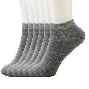 Lot 12 Pairs Ankle/Quarter Crew Men's Sport Socks Cotton Low Cut Size 9-11,10-13