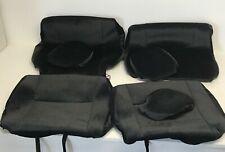 2014-2017 Nissan Rogue OEM Front Seat Covers w Headrest GTN648ABVLBK