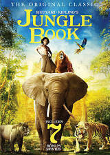 The Jungle Book: Includes 7 Bonus Movies (DVD, 2016, 2-Disc Set)