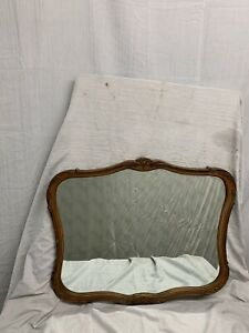 Antique Ornate French Country Beveled Mirror