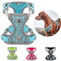No Pull Dog Puppy Harness Adjustable Reflective Fly-weave Vest for All Pet Dogs