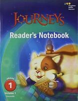 Grade 1 Journeys Readers Notebook Volume 1 Student Edition 2017 1st
