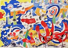 LEGER - PAYSACE AERIEN  - OFFSET LITHOGRAPH -1940 - FREE SHIP IN US !!!