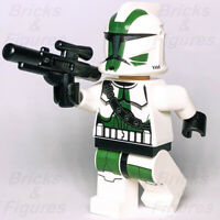 New Star Wars LEGO® 41st Elite Corps Commander Gree Clone Trooper Minifig 9491