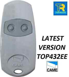 """GENUINE""CAME 2 Button Gate Remote CAME TOP  - now 432EE 001TOP-432EE"