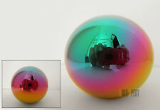 FOR HONDA HEAVY WEIGHTED M10 X 1.5MM MANUAL NEO CHROME ROUND BALL SHIFT KNOB