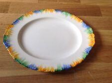 Grindley England Cream Petal Pattern Serving Platter 31.5cm by 25.5cm wide.